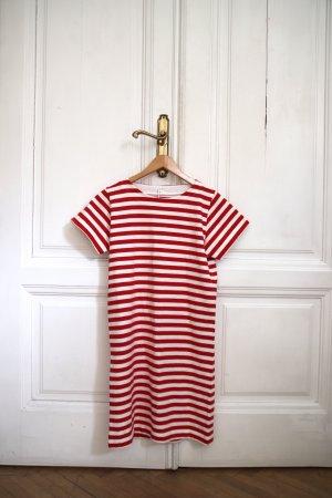 COS T-Shirt-Kleid Baumwollkleid NEU Shirt Dress XS gestreift Streifen rot weiß