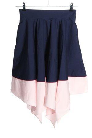 COS Tellerrock blau-pink Casual-Look
