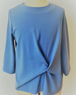COS Blouse Top azure mixture fibre