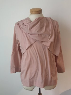 COS Blouse Top dusky pink mixture fibre