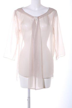 COS Transparante blouse wolwit elegant