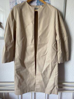 COS Trenchcoat Mantel beige neuwertig oversized 34