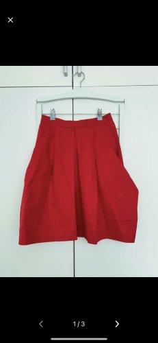 COS Spódnica w kształcie tulipana czerwony