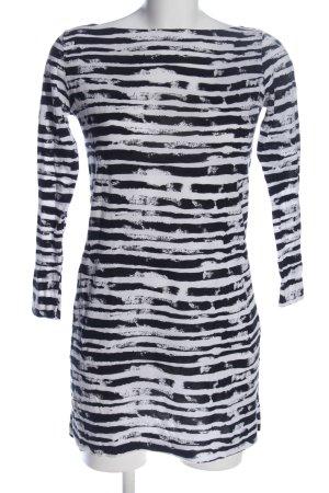 COS Tunikabluse schwarz-weiß Streifenmuster Casual-Look