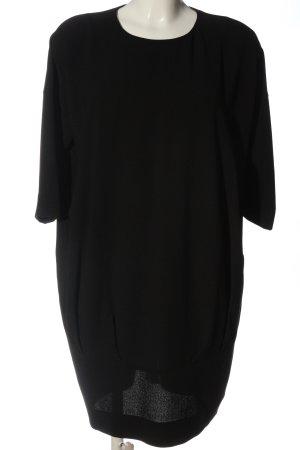 COS Sukienka tunika czarny W stylu casual
