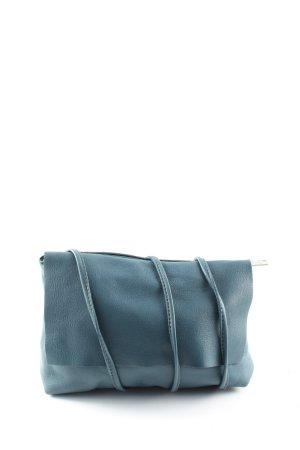 COS Borsa a spalla blu-turchese stile casual