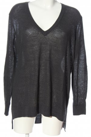 COS V-Neck Sweater black casual look