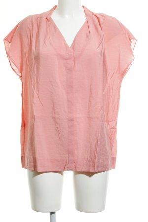 COS V-Ausschnitt-Shirt neonpink Casual-Look