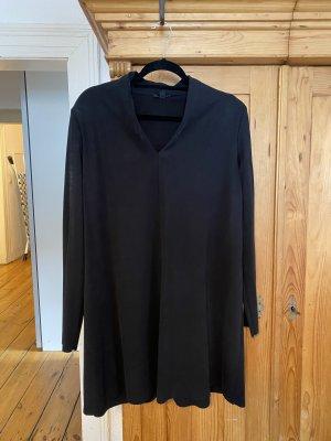 Cos v neck black dress