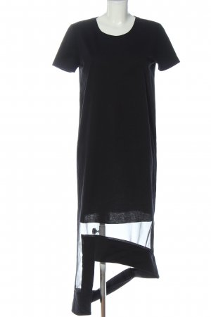 COS Vestito vokuhila nero elegante