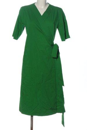COS Robe portefeuille vert style décontracté