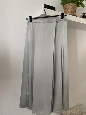 COS Jupe portefeuille gris clair-argenté