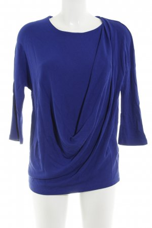 COS Wickelshirt blau Casual-Look