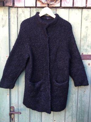 COS Veste en laine noir