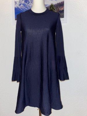 COS Wolle Kleid Winterkleid Strickkleid XS 34 36 S