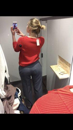 COS Pantalon à pinces gris ardoise