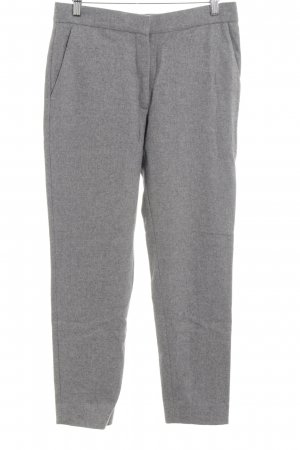 COS Woolen Trousers grey flecked classic style