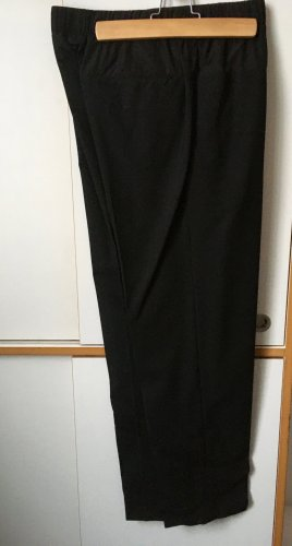 COS Woolen Trousers black wool