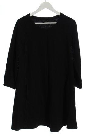 COS Vestito di lana nero stile casual