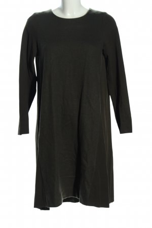 COS Wollen jurk khaki casual uitstraling