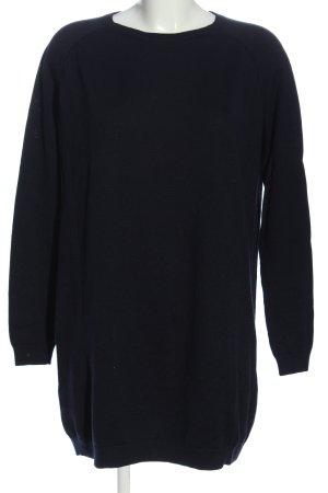 COS Vestido de lana negro look casual