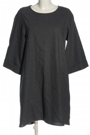 COS Woolen Dress black flecked casual look