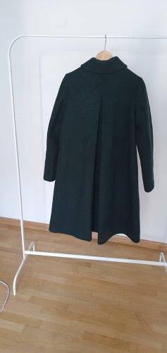 COS Manteau en laine vert foncé-vert forêt