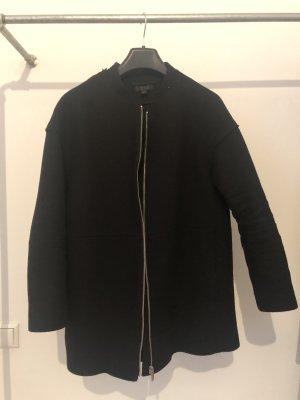 COS Wollen jas zwart