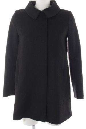 COS Wollmantel schwarz klassischer Stil