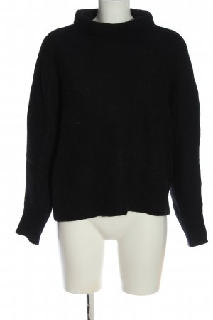 COS Jersey de lana negro look casual