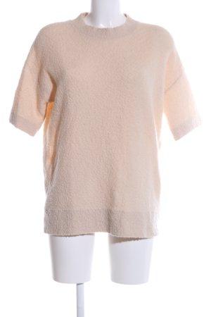 COS Pull en laine crème style d'affaires