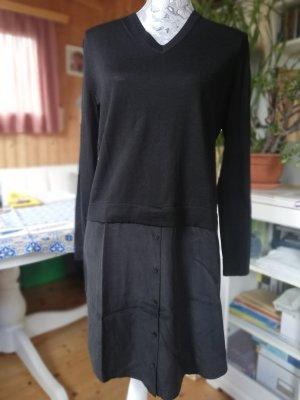COS Vestido tipo jersey negro