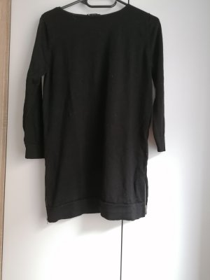 COS Wollpullover schwarz Strickpullover