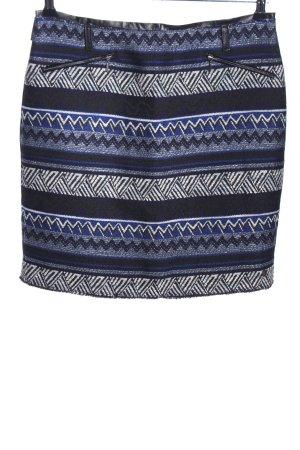 COS Falda de lana estampado gráfico look casual