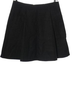 COS Wollen rok zwart casual uitstraling