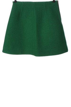 COS Wollen rok groen casual uitstraling