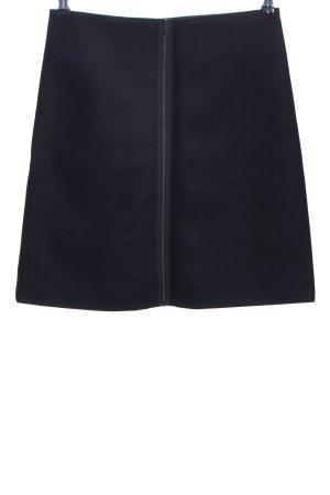 COS Falda de lana negro elegante
