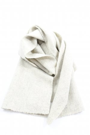 COS Wollen sjaal wolwit Webpatroon casual uitstraling