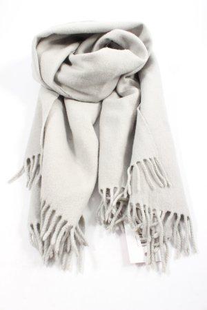 COS Sciarpa di lana grigio chiaro stile casual