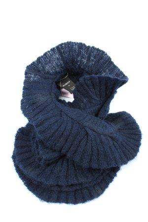 COS Bufanda de lana azul look casual