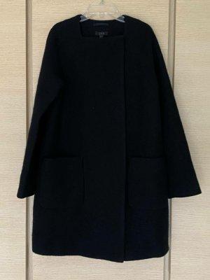 COS Abrigo de lana negro