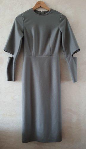 COS Vestito di lana grigio
