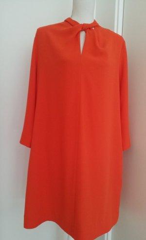 COS Midi Dress orange