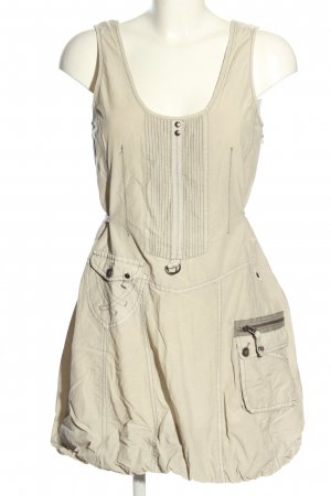 Cosima Cargo Dress light grey casual look