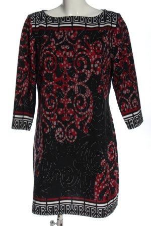 Cosima Midi Dress mixed pattern casual look