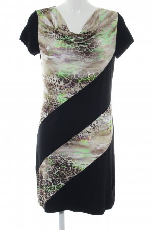 Cosima Stretch Dress animal pattern party style