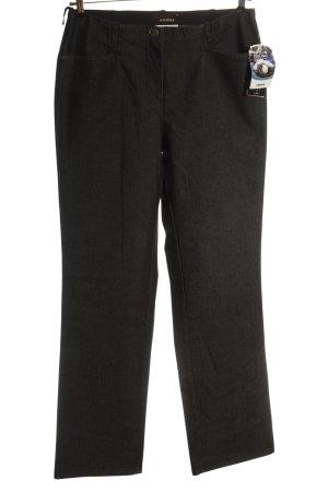 Cosma High Waist Jeans black weave pattern casual look