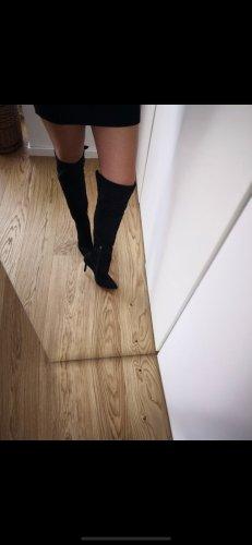 Cosmoparis Kniehoge laarzen zwart Suede