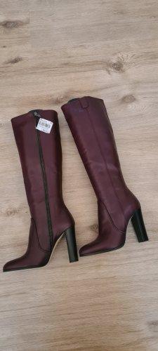 Cosmoparis Heel Boots purple-brown violet