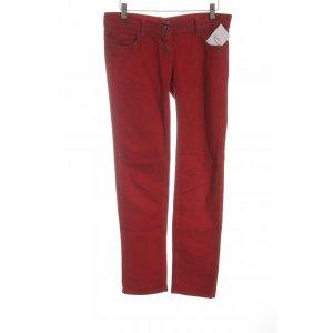 Costa Noir Hüfthose rot schlichter Stil